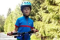 Autistický chlapec Tobiáš Nábělek