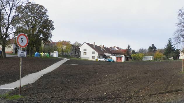 Centrum Vícova  - začátek listopadu 2017
