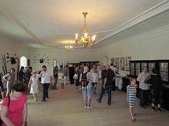 Výstava keramiky na zámku v Plumlově