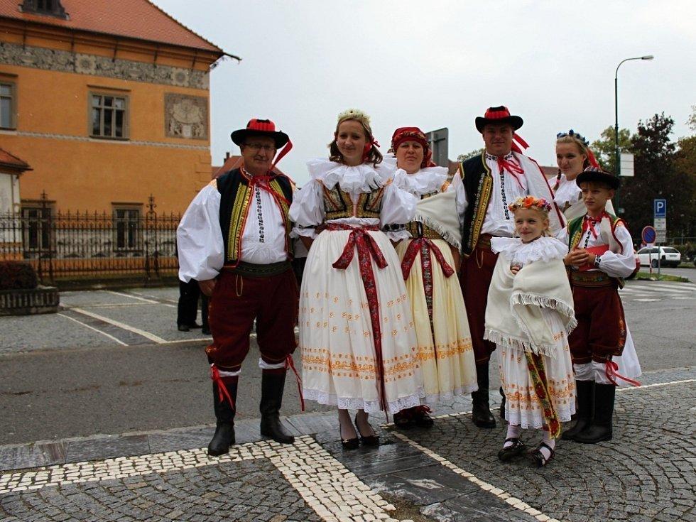 Čtvrtý ročník Setkání Hanáků na Hanáckých slavnostech v Prostějově