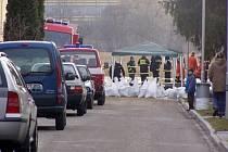 Povodně ve Vrahovicích v roce 2006