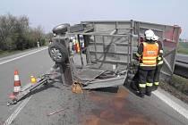 Pondělní nehoda na R46