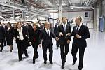 Slavnostní otevření průmyslové haly DGPack Prostějov