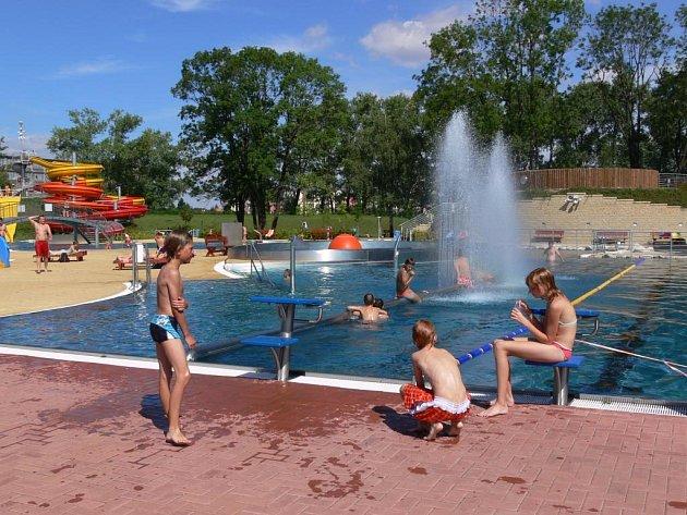Prostějovský aquapark. Ilustrační foto.