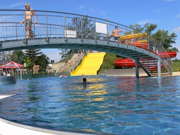 články k aquaparku v Prostějově