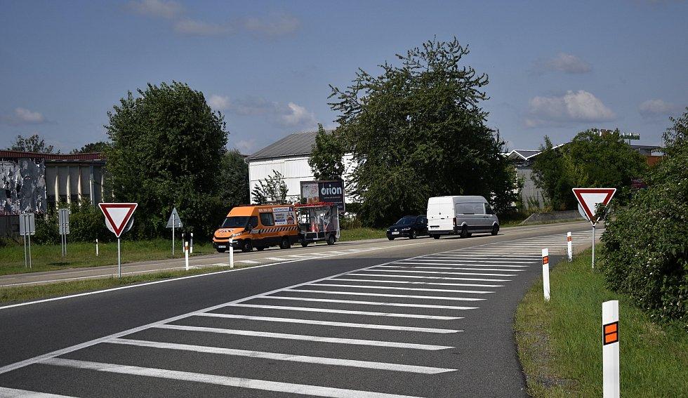 Mimoúrovňovou křižovatku na D46 u Držovic čeká rekonstrukce za více než 200 milionů. 21.7. 2021