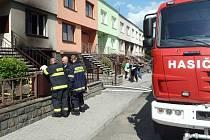 Požár v garáži v Němčicích zasáhl i obytnou část rodinného domu