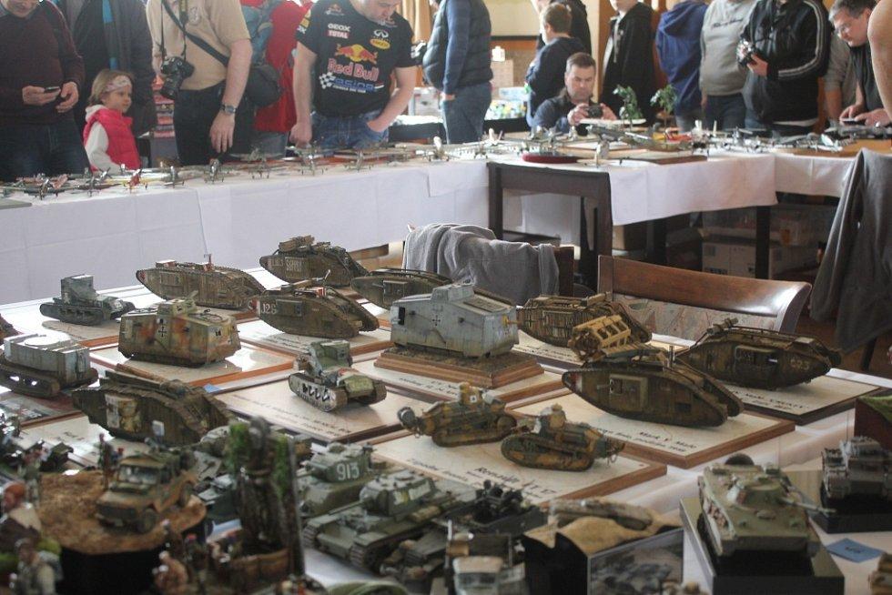 Výstava modelářů v Národním domě
