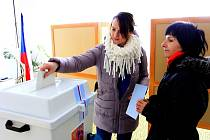 Prezidentské volby v Olšanech u Prostějova