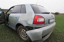 Dopravní nehoda na D46 u Olšan u Prostějova