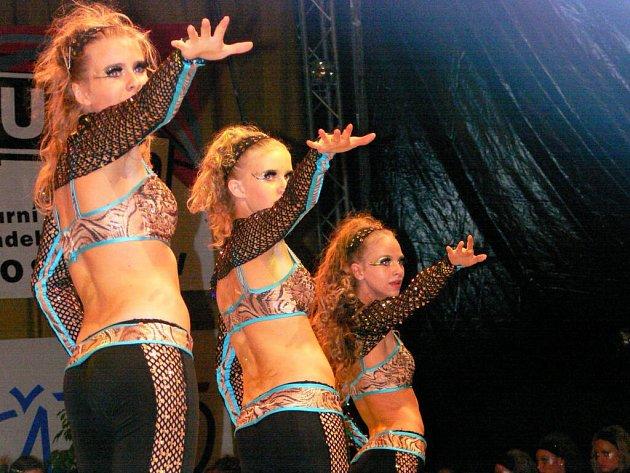 V rámci soutěže Visegrad award vystoupily taneční skupiny z celé střední a východní Evropy.
