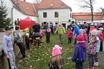 V sobotu se na plumlovském zámku konala tradiční halloweenská akce.