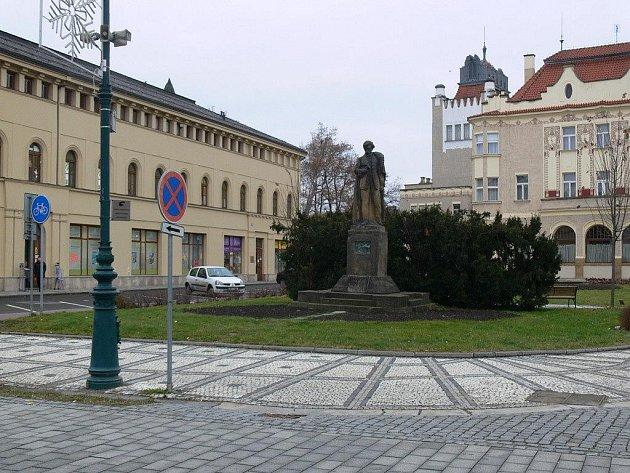 Hlaváčkovo náměstí v Prostějově
