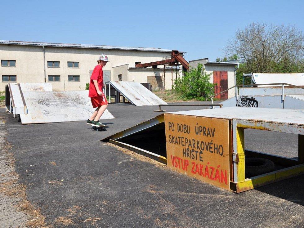 Plumlovský skatepark se opravy dočká v létě