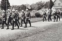 1. Dne 24. června 1979 proběhly vNěmčicích nad Hanou oslavy 100 let hasičské ochrany (1879-1979).