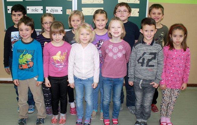 Žáci 1.Aze základní školy Určice