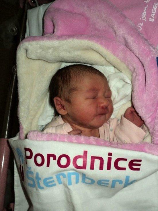Daniela Pečínková, Velká Bystřice, narozena 13. července 2021, míra 49 cm, váha 2940 g