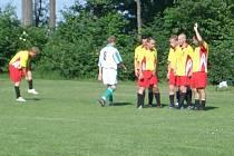 Fotbalisté Mostkovic remizovali v zápase 1.A třídy s Jesencem 1:1