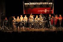 Jumping Drums v prostějovském Národním domě