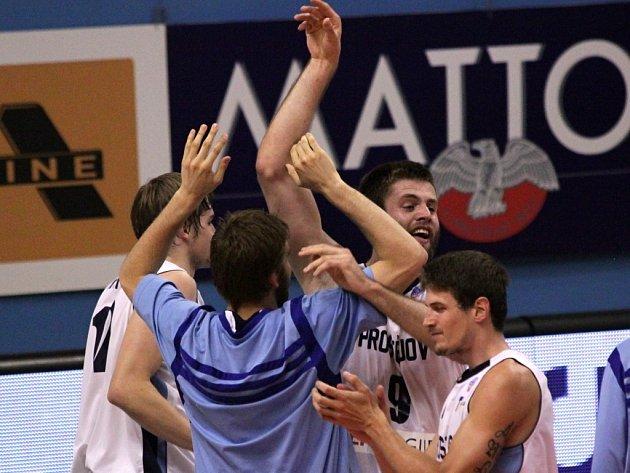 Orli proti Ostravě - 5. semifinále - Prostějov se raduje z postupu do finále