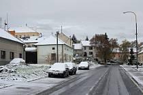 Sněhová nadílka v Otaslavicích