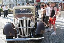 V sobotu 4. července zaplnila Prostějov prvorepubliková noblesa v podobě srazu vozů prostějovské automobilky Wikov,