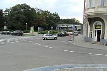 Problematická prostějovská křižovatka u Pernštýnského náměstí