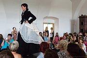 Plumlovský zámek hostil módu a krásné ženy.