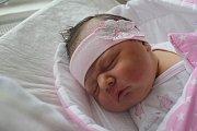 Viktorie Unatényi, Ivaň. Narozena 24. října. Míra 52 cm, váha 3850 g.