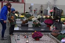 Dušičky ve Vrchoslavicích 2.11. 2019
