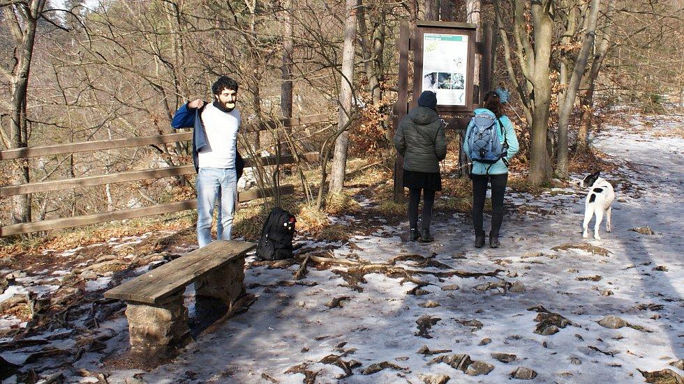 Vyhlídka Koňský spád v Moravském krasu - 20. února 2021