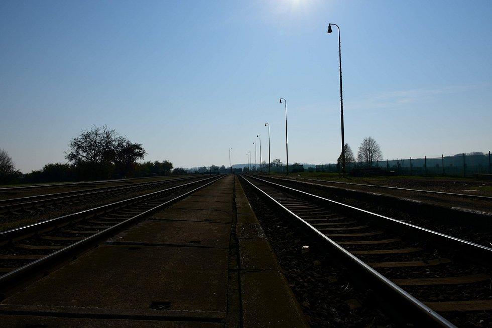 Vlakové nádraží v Kostelci na Hané