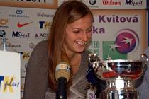 Petra Kvitová  a zmenšenina Fed Cupu