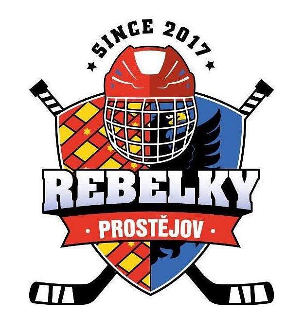 Logo, které používá ženský hokejový tým HC Rebels 2017 Prostějov