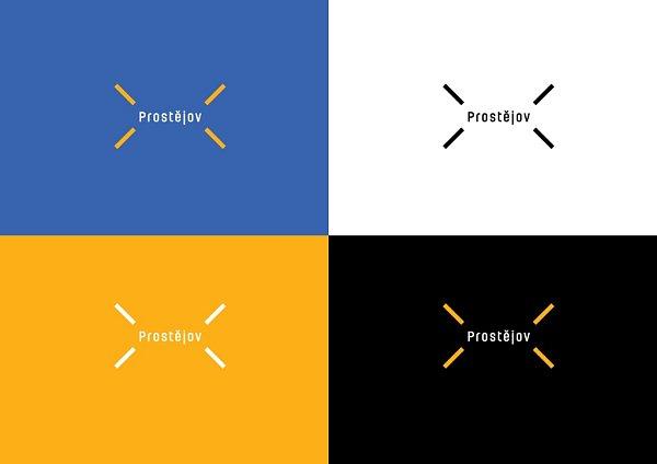 Nové logo města Prostějova, které je výtvorem brněnské grafičky Věry Marešové