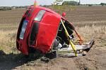 Nehoda mezi Olšany u Prostějova a Hněvotínem