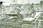 NOVÝ AREÁL. Výstavba celého nového areálu národního podniku OP Prostějov byla dokončena až v roce 1965