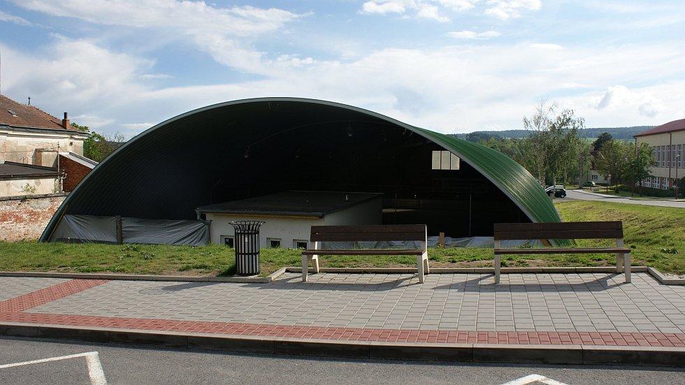 Víceúčelová hala v Konici