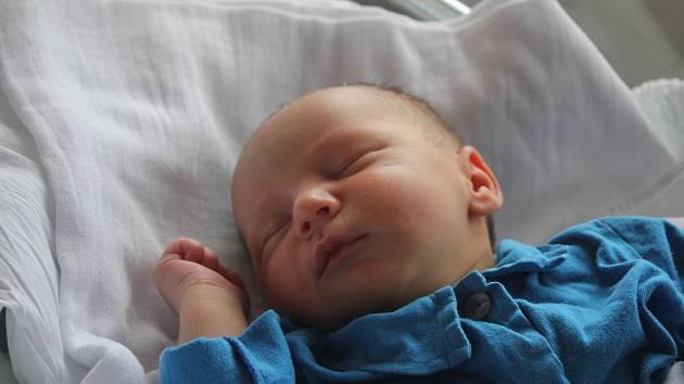 Maxmilián Mládek, Prostějov,narozen 24. července v Prostějově,Míra 49 cm, váha 3500 g