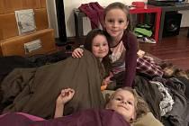 V Mořicích děti nocovaly s Andersenem - 29.3. 2019