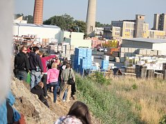 28. červen, den demolice budov bývalého OP Prostějov