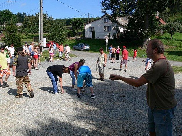 Turnajem v petangue vyvrcholilo Ospělovské léto