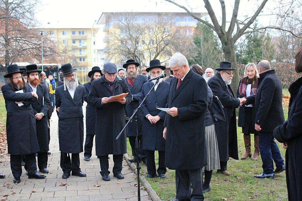 V pondělí 25. listopadu 2019, byl v Prostějově slavnostně umístěn náhrobní kámen rabína Horowitze.