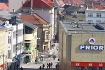 Vyhlídka z prostějovské radniční věže - 22. 3. 2011