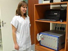 Nejmodernější analyzátor současnosti využívají pracovníci prostějovské nemocnice jako první v republice. Slouží především k odhalení infekce v žaludku, k odhadu jeho pohyblivosti a k posouzení jaterních funkcí