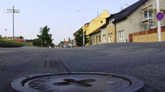 Olomoucká ulice v Prostějově