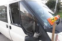 Nehoda řidiče kamionu ve Ptení