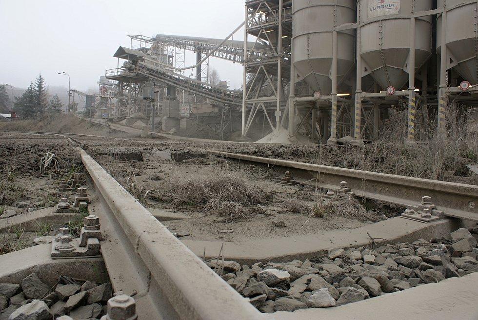 Lom Chornice (kamenolom u Chobyně na Konicku) - listopad 2020