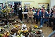 Tradiční výstava a tvoření s velikonoční tématikou proběhla v Tvorovicích.