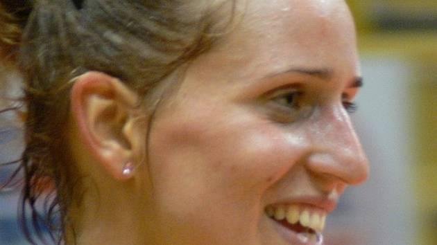 Slovenka Gabika Tomašeková je klíčovou blokařkou týmu Miroslava Čady i díky svým 185 centimetrům.